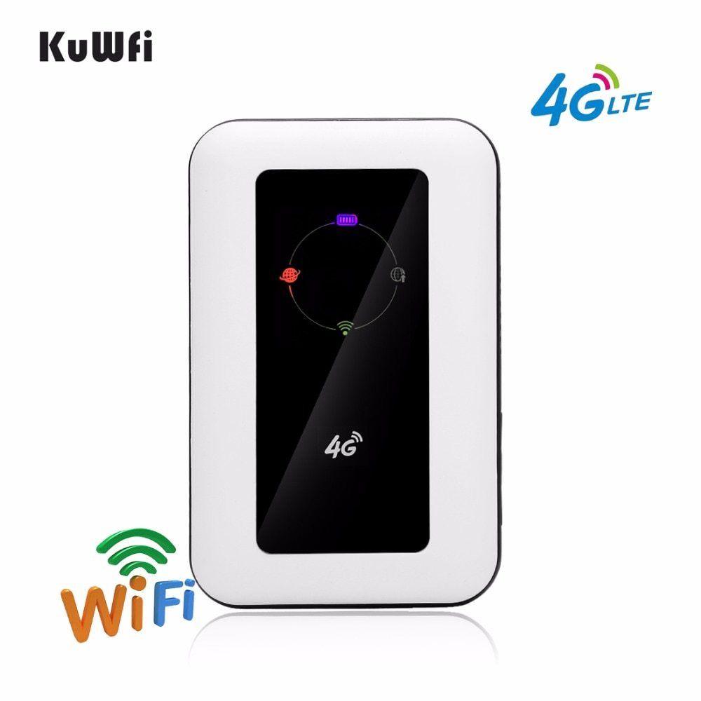 Unlocked 4G Wifi Router 100Mbps Car LTE Mobile Wifi Hotspot Wireless