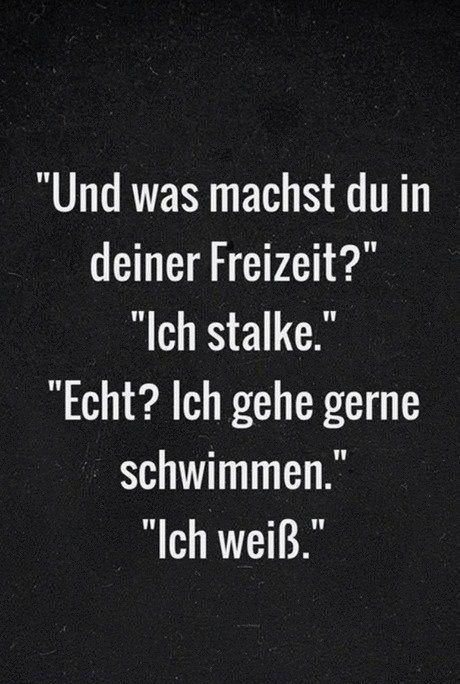 stalker sprüche Stalker | German Quotes [Sprüche] | Funny, Funny Quotes, Humor stalker sprüche