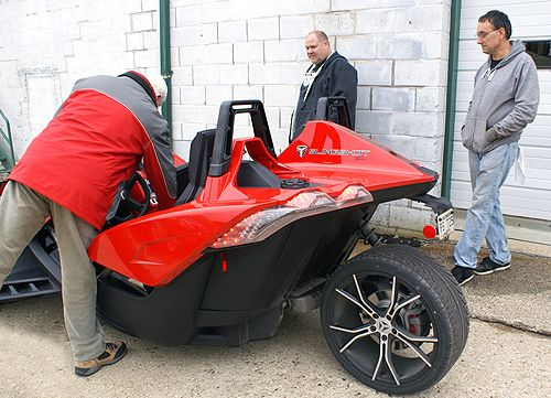 RIVCO's management taking in the Polaris Spyder  | Products
