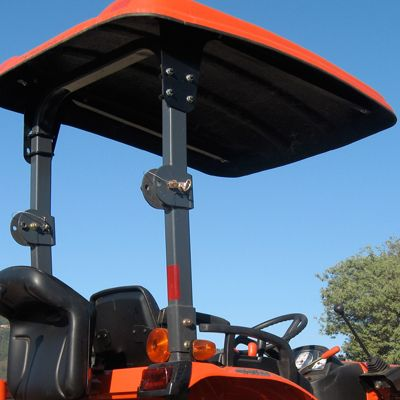 Fiberglass Canopy Kit For For Kubota Bx B Series Tractors Tractors Compact Tractor Attachments Kubota Tractors