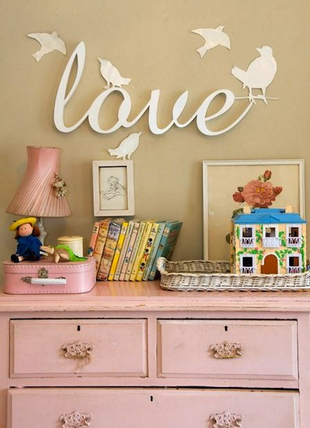 home inspiration: GIRLY PRETTY