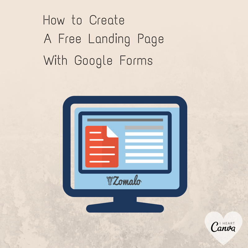 newblogtuesday How to Create a Free Landing Page with