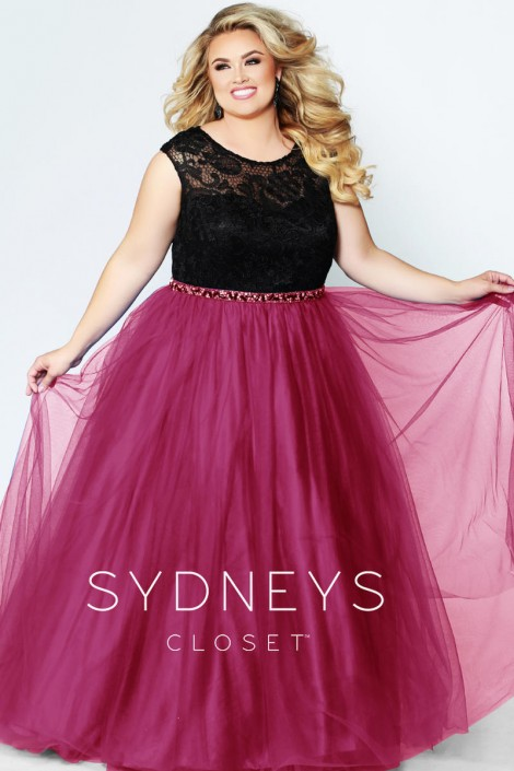 Sydneys Closet Sc7269 Make A Wish Plus Size Prom Dress Plus Size Prom Dresses Plus Size Prom Plus Size Gowns