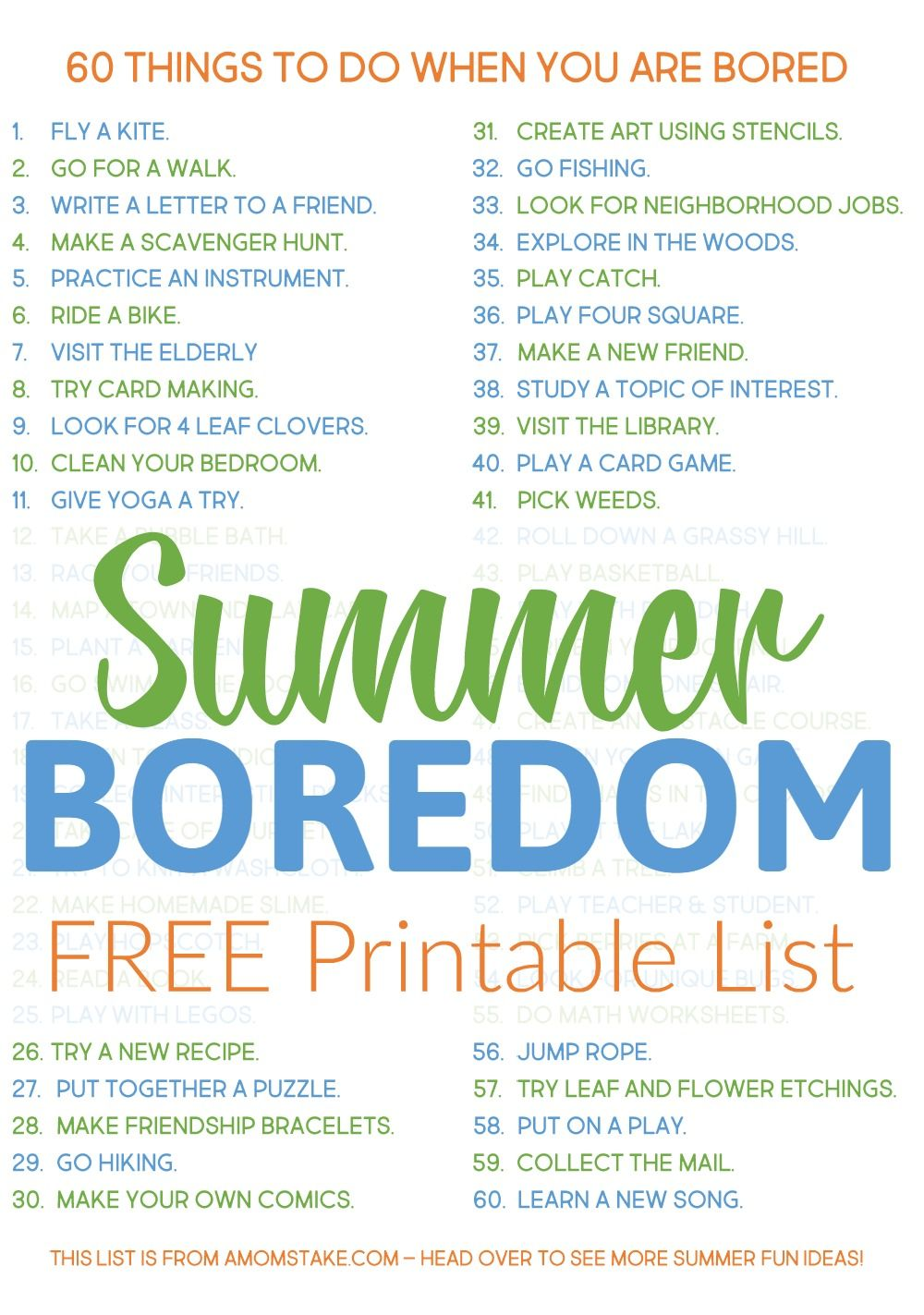 You need this list 60 things to do when you 39 re bored for Home need things