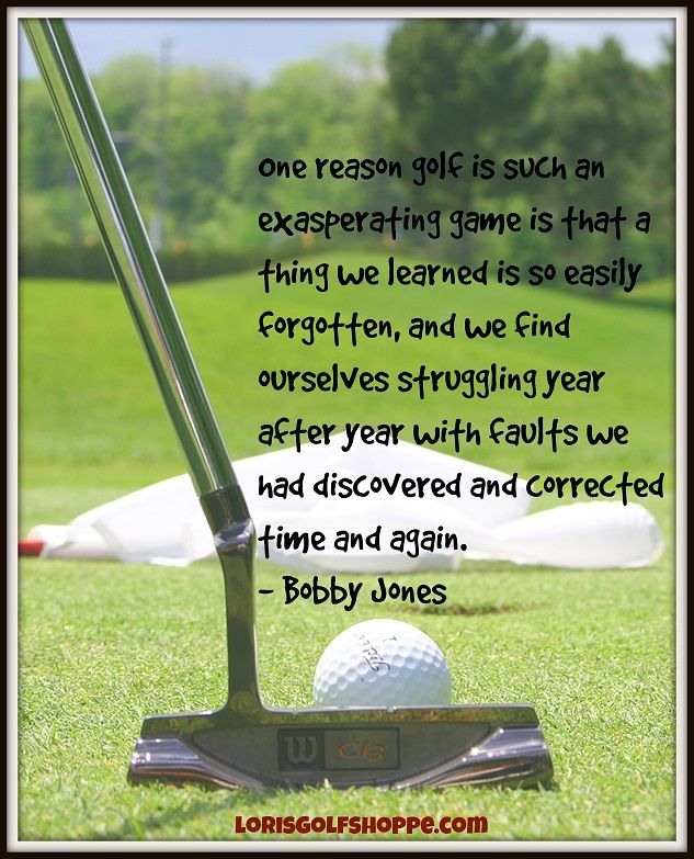 b528cb990726 Thoughts of the one and only, Bobby Jones ! #golf #lorisgolfshoppe ...
