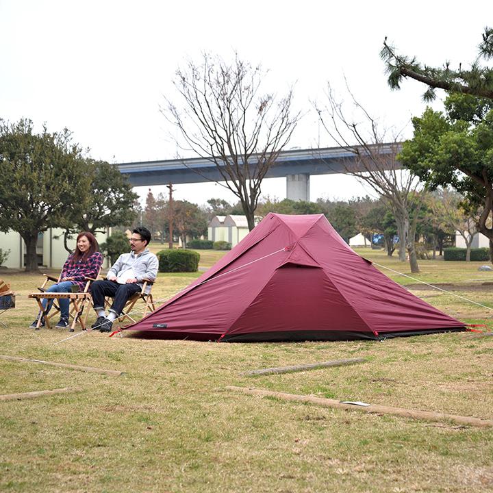 フィールドア クロスポールテント240 のレビュー 口コミ 評判は 2020 テント テント 軽量 ドームテント