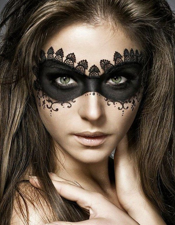 45+ Examples of DIY Halloween Makeup | Halloween makeup, Masking ...