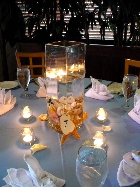 Amazing Beach Theme Centerpieces For Wedding Tables Wedding Table Home Interior And Landscaping Palasignezvosmurscom