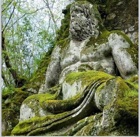 Neptunes (technically Poseidon for lack of trident) Statue in Bosco ...