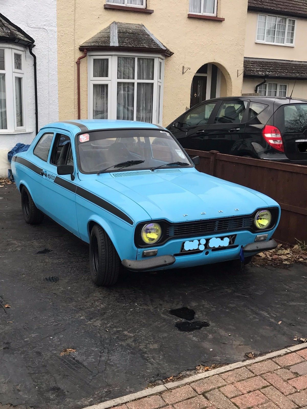 This ford escort mk1 rs mexico 1972 olympic blue/ black stripes is ...