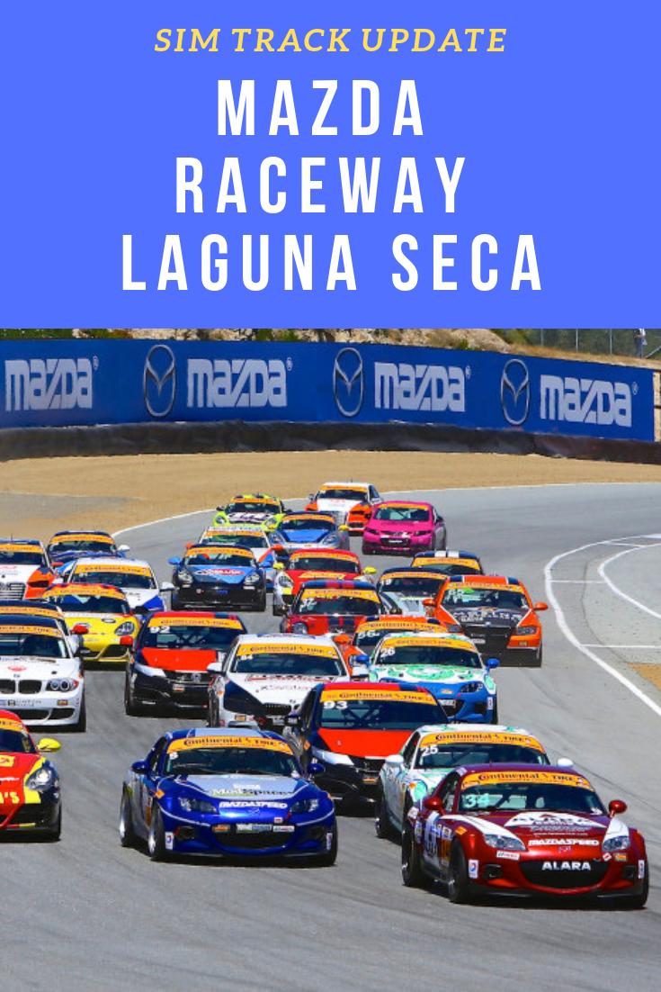 Simraceway Online Racing World S Laguna Seca Track Has Been Optimized To Provide An Even Better Virtual Racing Performance Driving Virtual Race Sonoma Raceway