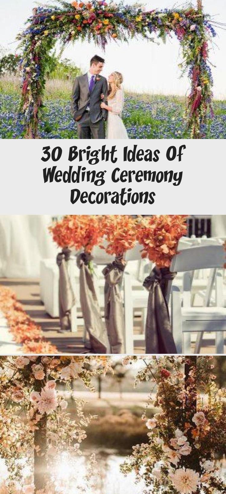 30 Bright Ideas Of Wedding Ceremony Decorations - Wedding 30 Bright Ideas Of Wed | summer outdoor wedding ceremony aisle decorations #bright #ceremony #decorations #ideas #wed #wedding