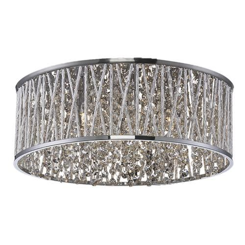 Patriot Lighting Elegant Home Carolyn 6 Light Flush Mount At Menards