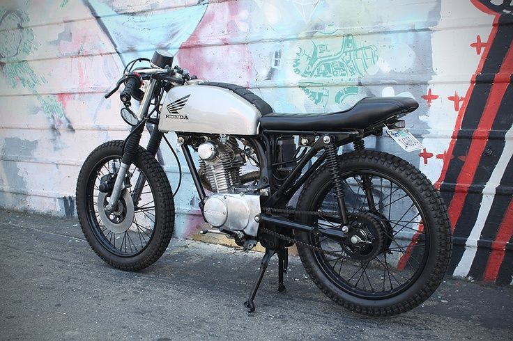 honda cb 125 on pinterest cafe racers motorcycles and. Black Bedroom Furniture Sets. Home Design Ideas