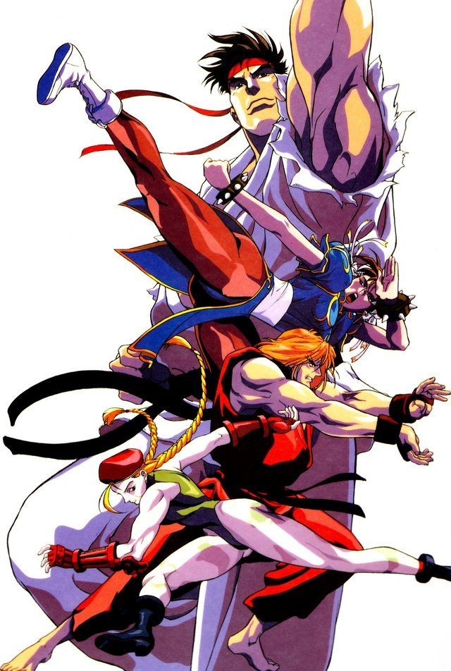 Street Fighter Personagens Street Fighter Street Fighter
