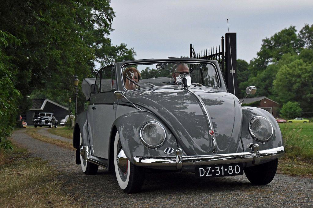 His 1955 Delphine Grey Two-Tone finish VW Convertible 6b76b337d