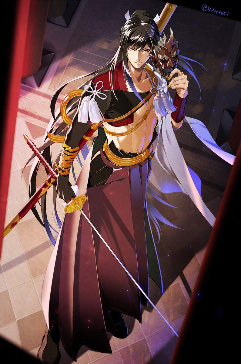 แฮชแท็ก #刀剣男士創作着物企画 ในทวิตเตอร์ | 刀剣乱舞 | pinterest