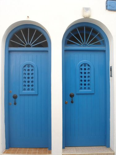 Blue Doors, Assilah, Morocco
