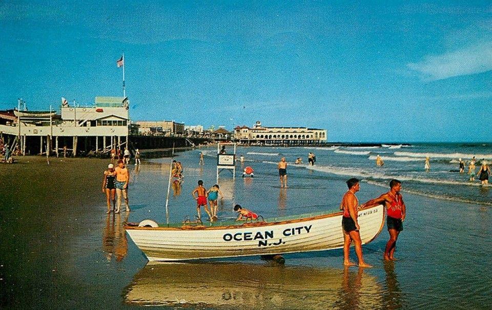 Ocean City Nj 1960 Ocean City Nj Ocean City Family Resorts