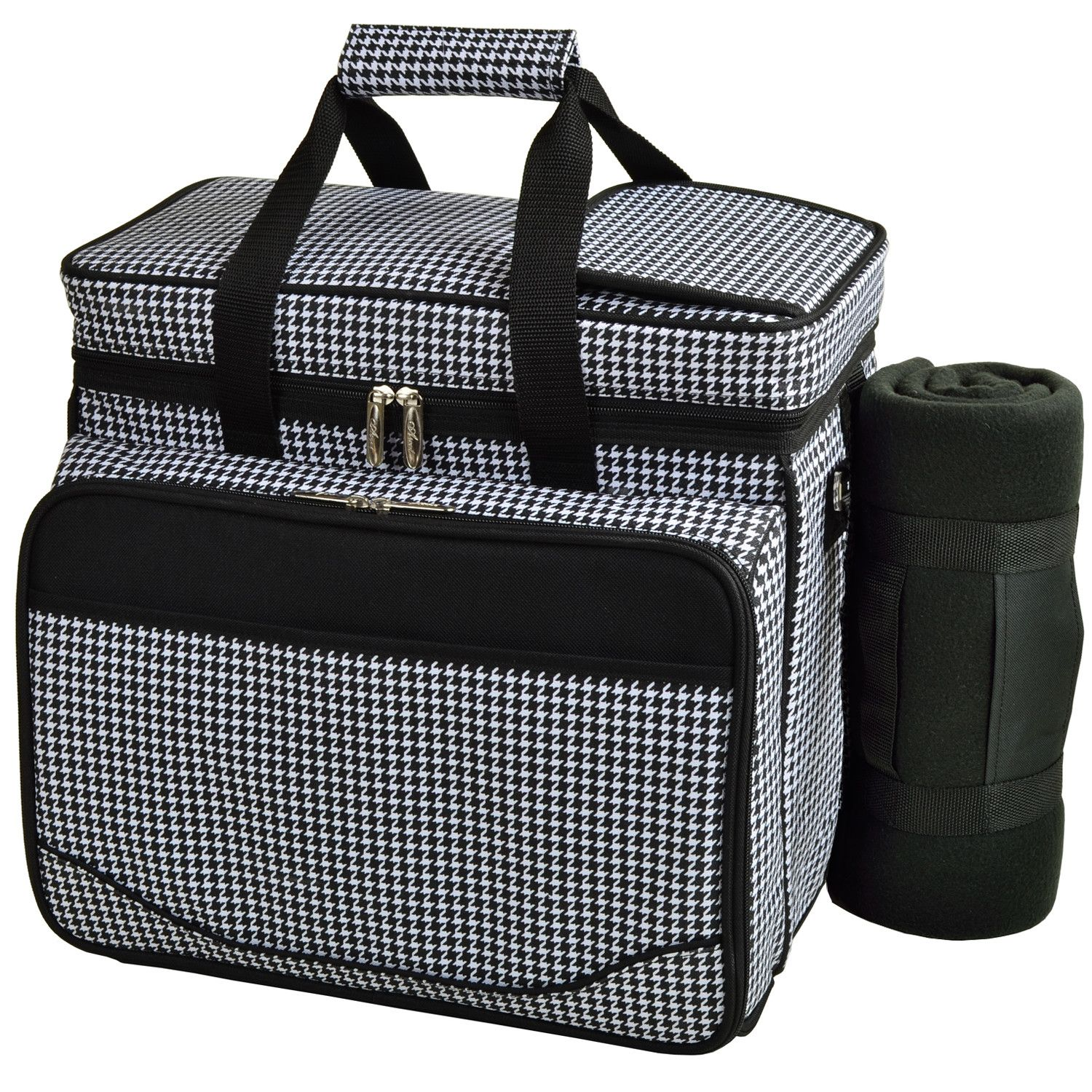 Houndstooth Deluxe Picnic Backpack