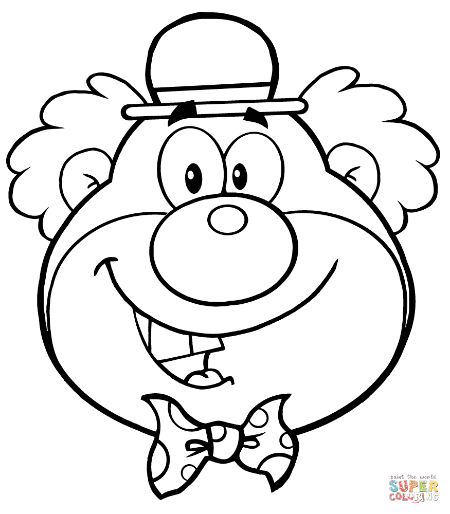 thanksgiving coloring pages funny clowns - photo#6