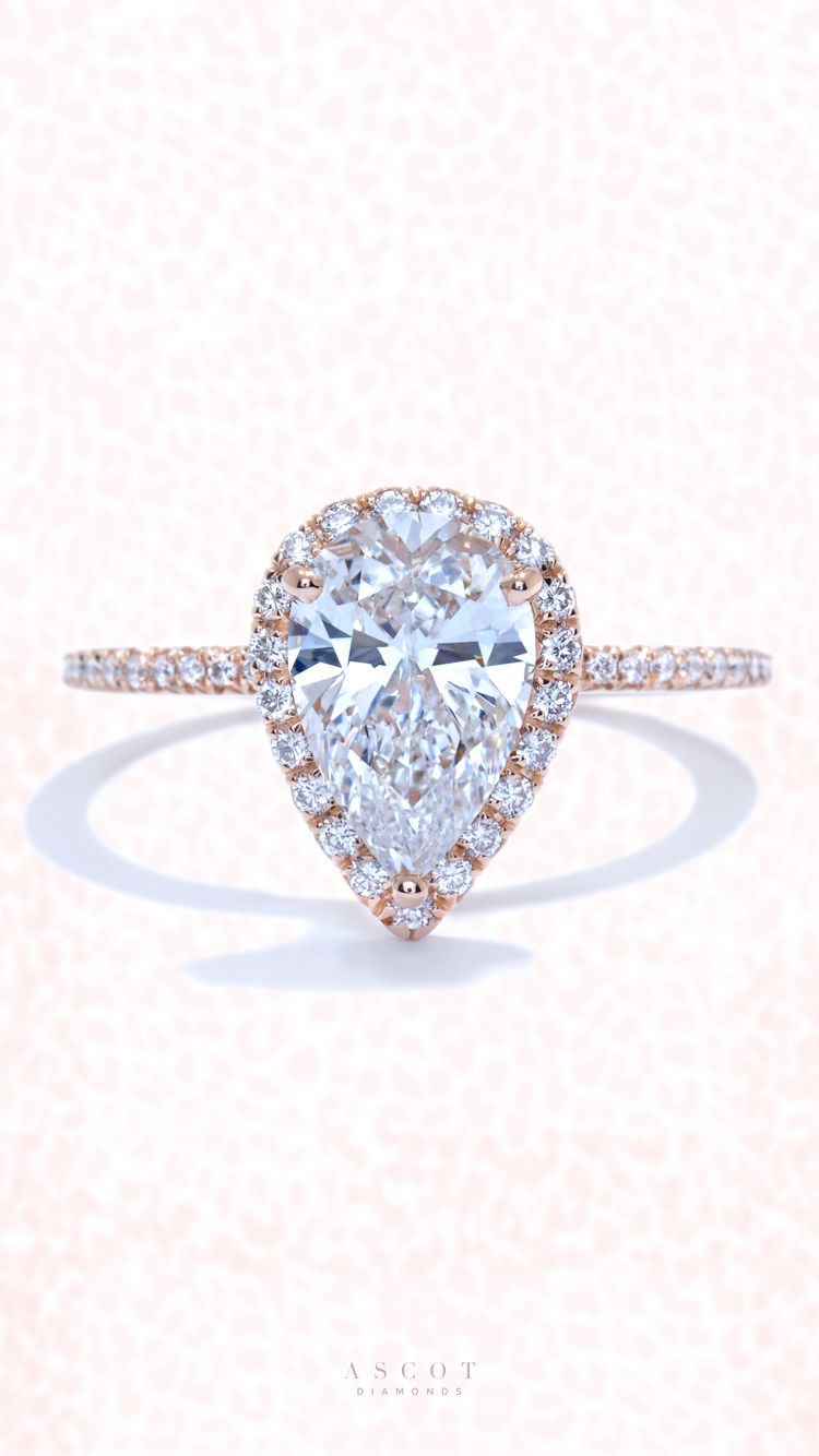 engagement tw rose ring diamond pav ct french pave rings in p style gold
