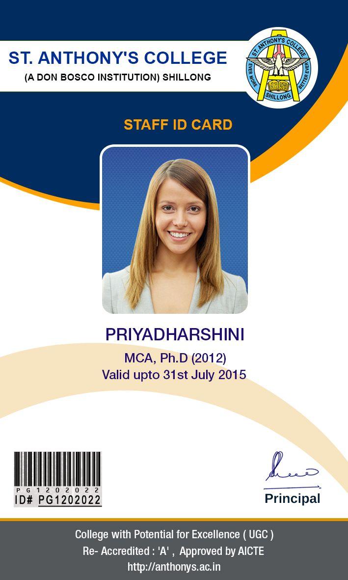 Design | ID Card Design | Pinterest