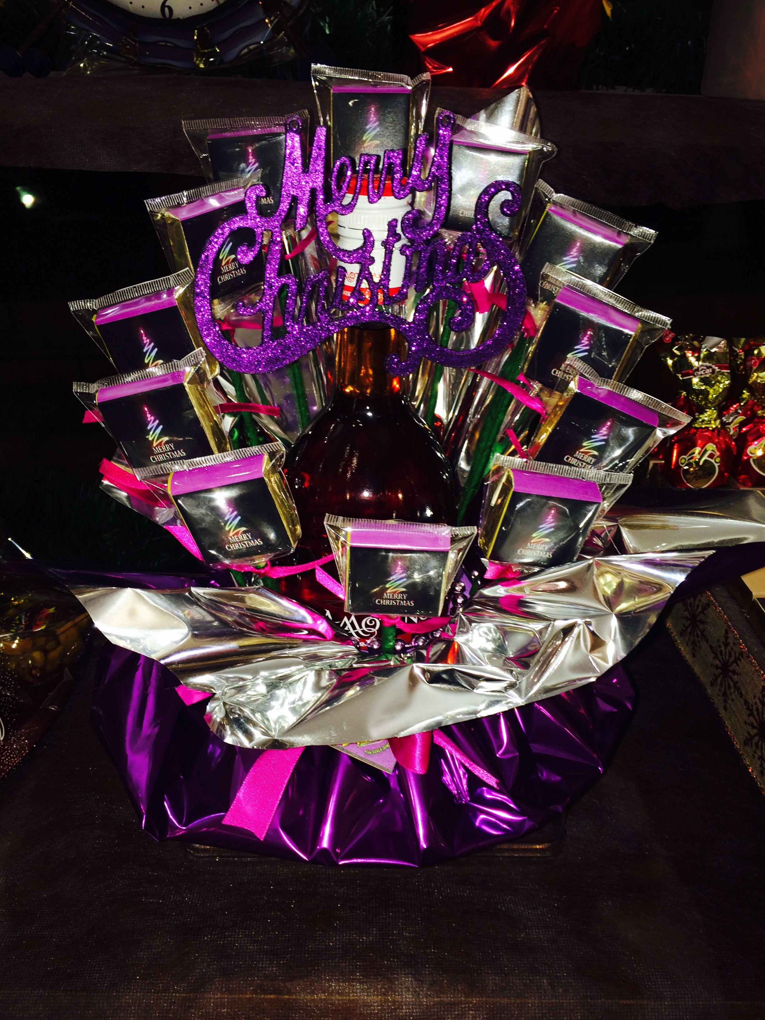 Chocolate & wine bouquet