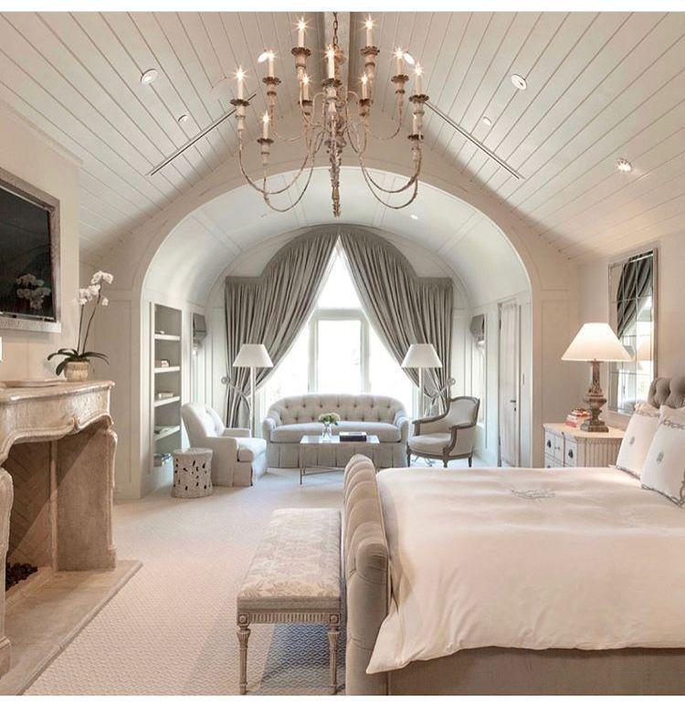 Ultimate Dream Lux Master Suite Fireplace Romantic Decor