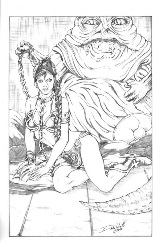 Princess Leia Comic Art Dean Juliette Comic Art Art Princess Leia