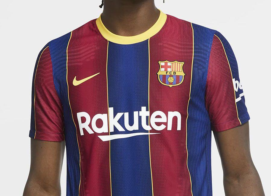 Barcelona 2020 21 Nike Home Kit Barca Fcbarcelona Nikefootball In 2020 Nike Swoosh Logo Nike Football Barcelona
