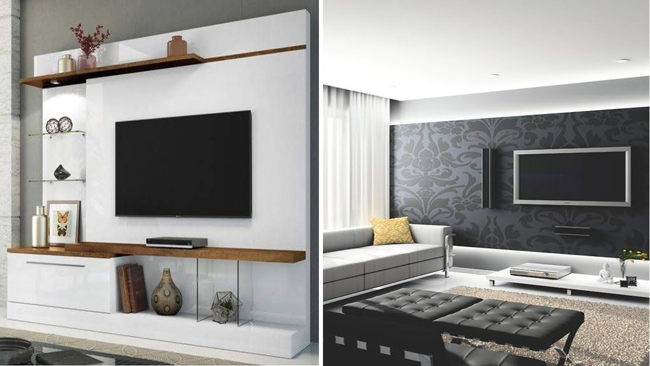 40 Living Room Wall Ideas with TV | Simple Home Decor Ideas ...