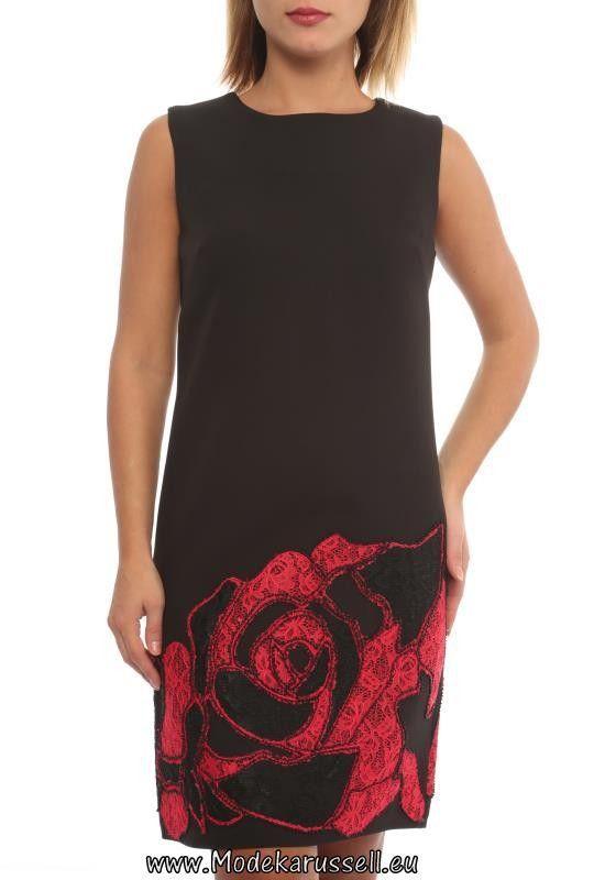 Ladys Hängerchen mit Rosen Print Aeon Rot