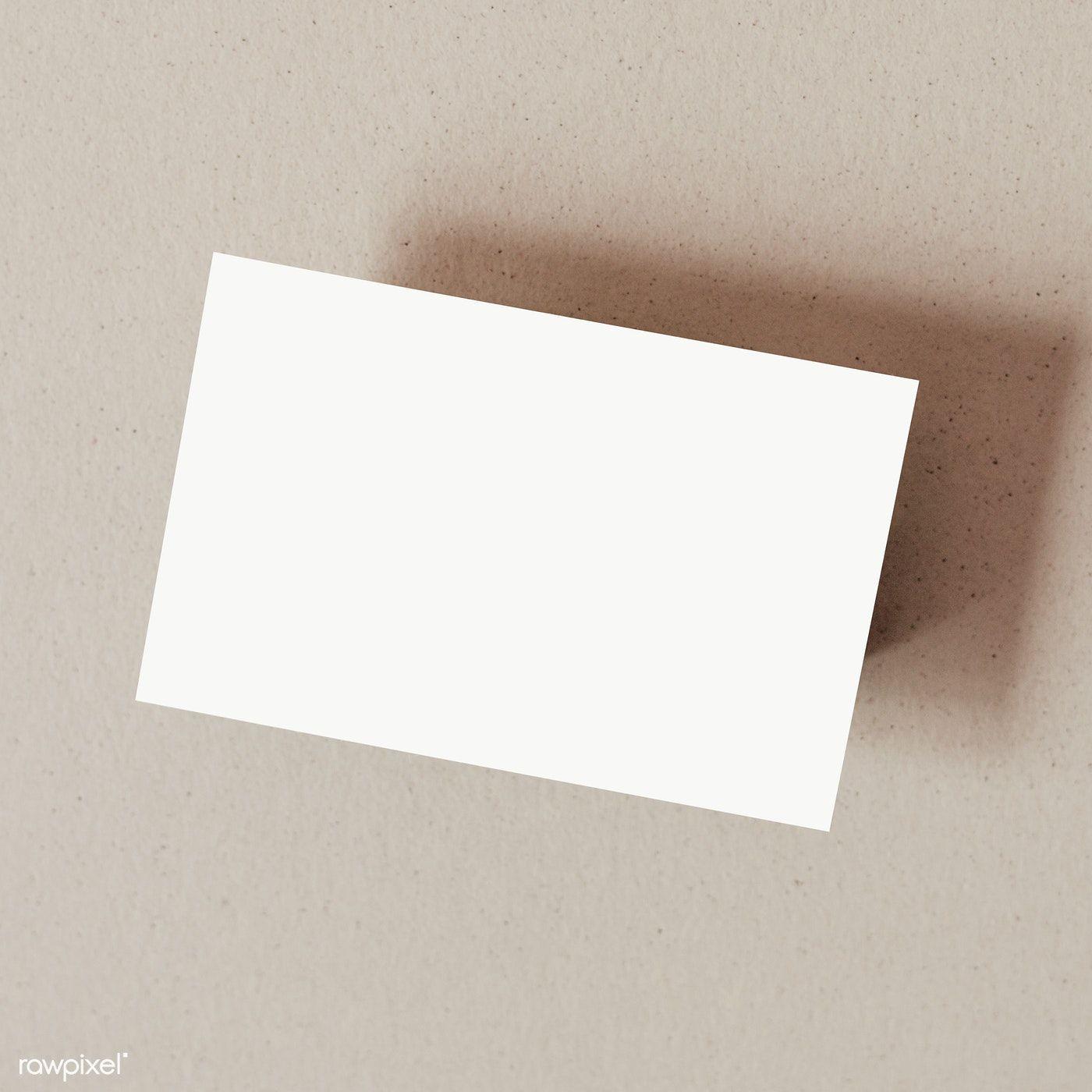 Blank Card Transparent Png Premium Image By Rawpixel Com Karolina Kaboompics Blank Cards Business Card Design Minimal Blank Cards And Envelopes