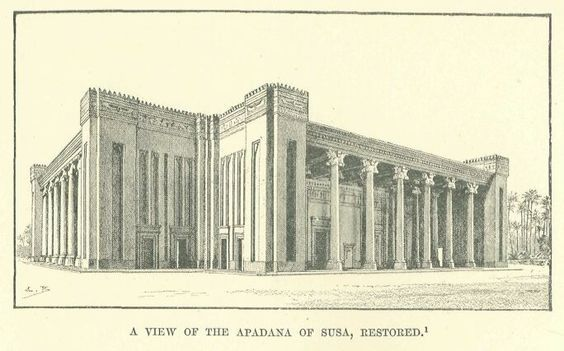 Image Result For Persepolis Architecture Drawing Architecture Drawing City Drawing Ancient Cities