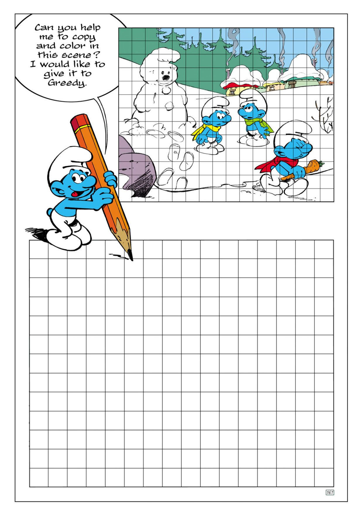 Smurf Pastime Coloring Pages Smurfs Drawings