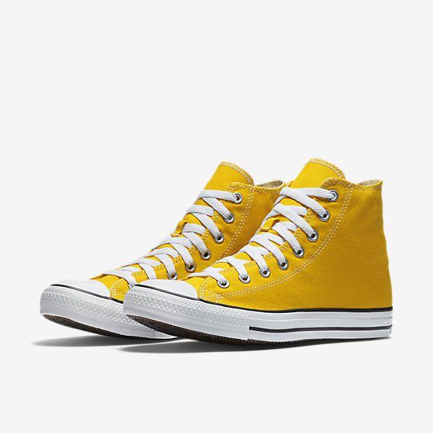 3c79a0a38924 Converse Chuck Taylor All Star High Top Unisex Shoe Lemon