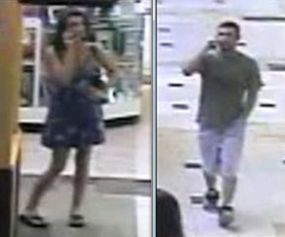 Do you know these two involved in larceny on 7/24? If so please contact Leominster, MA police department.