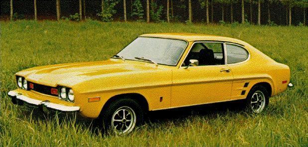 1974 1976 Mercury Capri 1970s Auto S En Motoren Motor