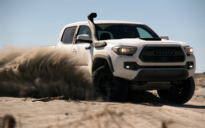 Download Wallpapers 4k Toyota Tacoma Trd Pro Desert 2019