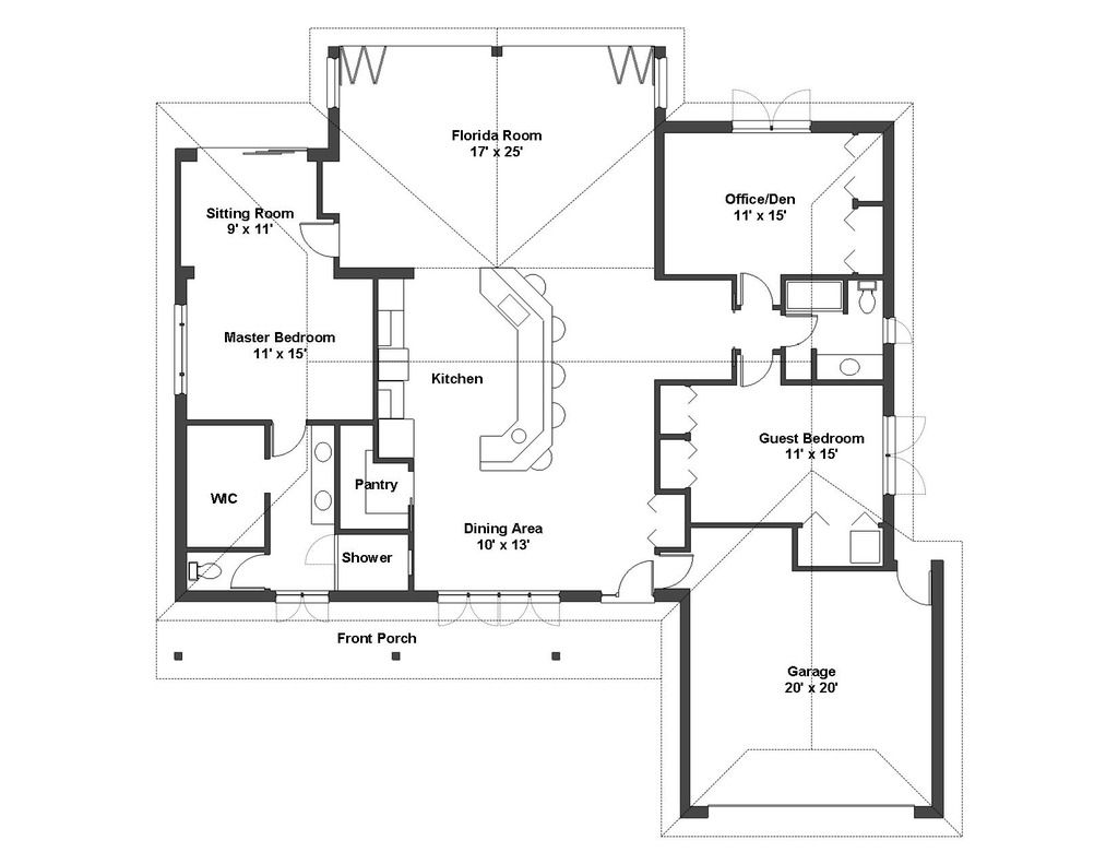 Mediterranean Style House Plan 4 Beds 3 Baths 2953 Sq Ft Plan 938 90 Multigenerational House Plans House Plans New House Plans