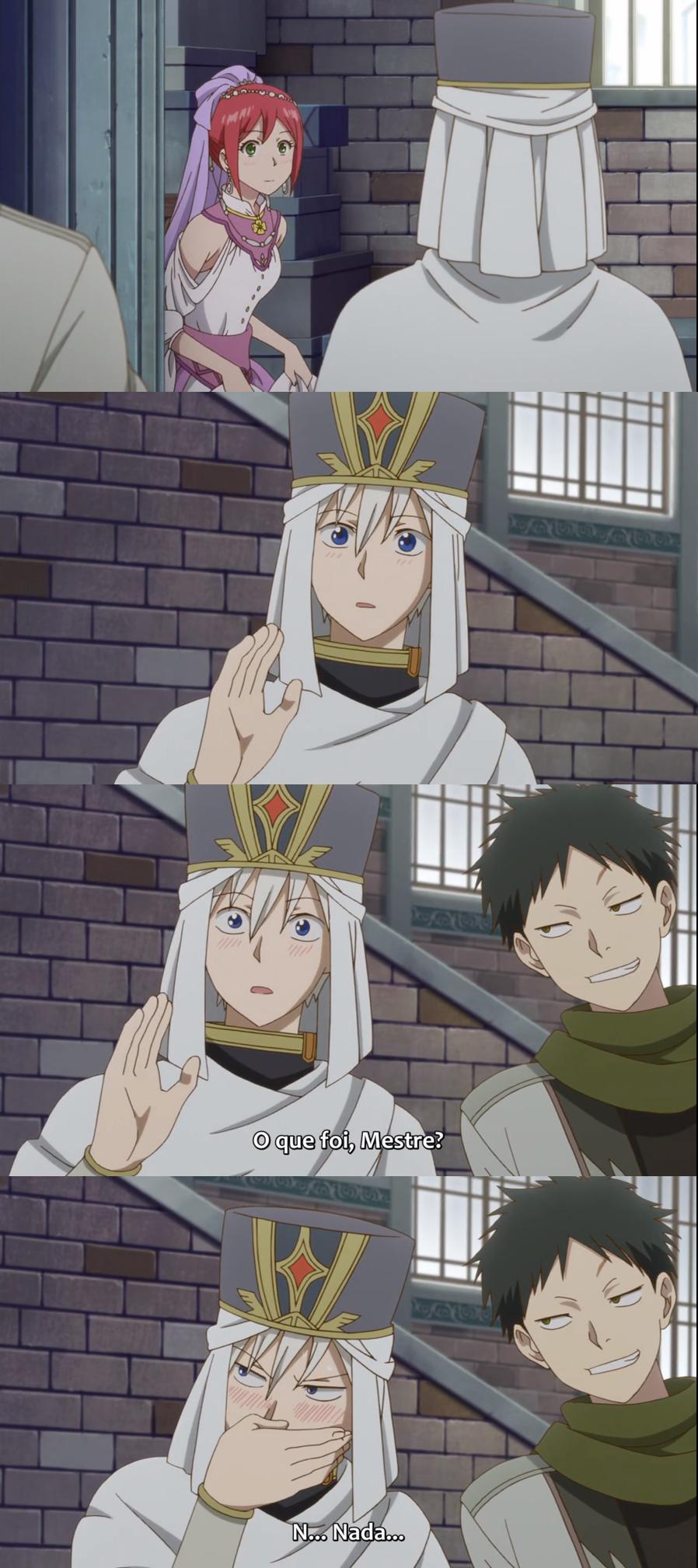 Shirayuki, Zen e Obi Akagami no Shirayuki A cara do Obi