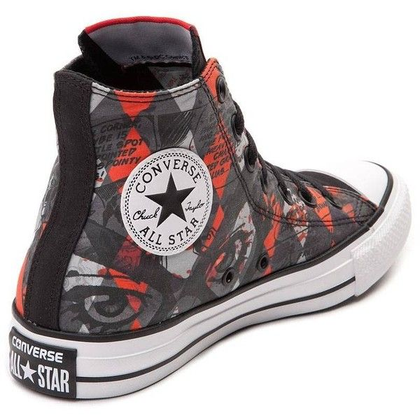Converse Chuck Taylor All Star Hi Harley Quinn Sneaker ❤ liked on Polyvore  featuring shoes e2d8af038