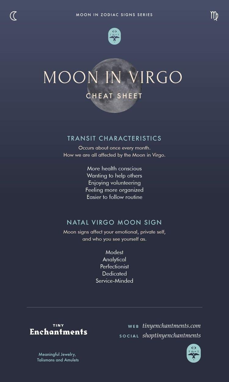 virgo virgo moon sign compatibility