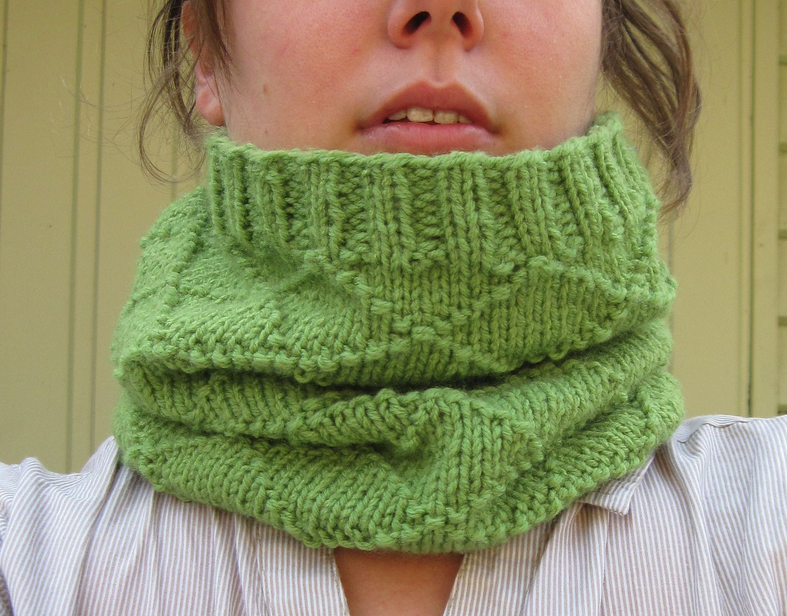 Ravelry: Criss Cross Snood by Boomie | tricot | Pinterest