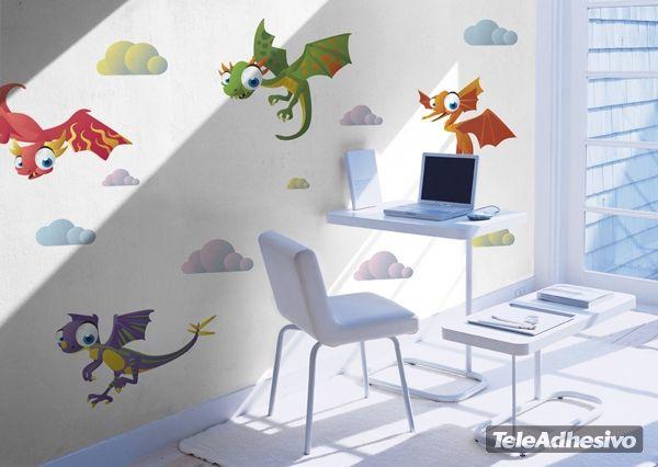 Marvelous Kinderzimmer Wandtattoo Dino