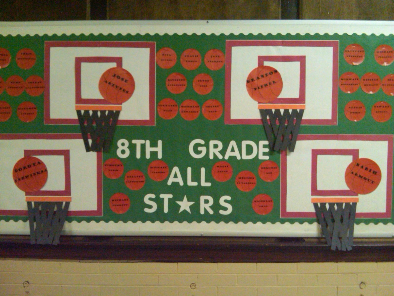 Back to school design background with primary subject matter school - Student Achievement Bulletin Boards Miss Keeler 8th Grade Language Arts North Arlington Middle School