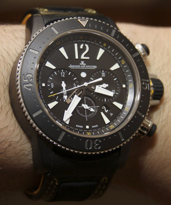 28b7e7660b2 Jaeger-LeCoultre Master Compressor Diving Chronograph GMT Navy SEALs Watch  Review