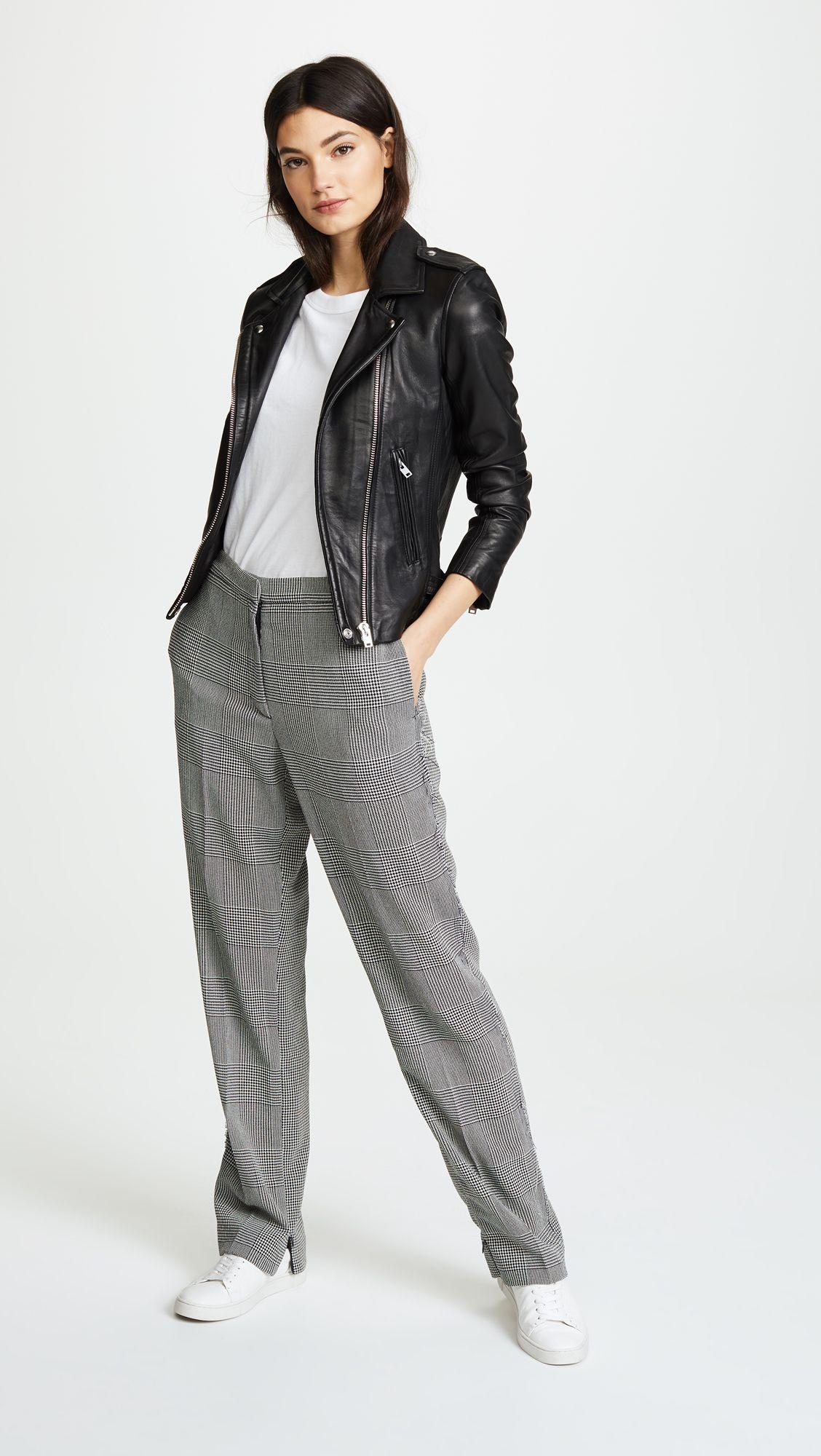 Iro Han Leather Jacket Leather Jackets Women Leather Jacket China Fashion [ 2000 x 1128 Pixel ]