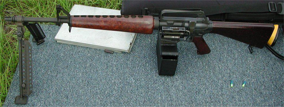 the original belt-fed AR10 | Gun Addiction | Ar 10, Hand ...